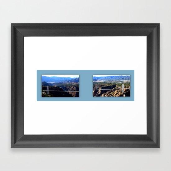 The Royal Gorge Framed Art Print