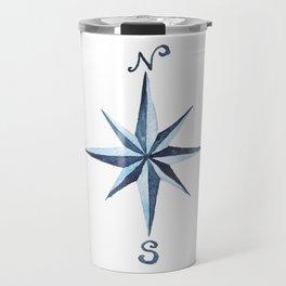 Compass Rose Travel Mug