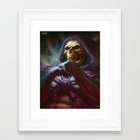 skeletor Framed Art Prints featuring Skeletor by ImmarArt