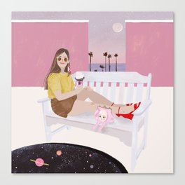 Celeste Canvas Print