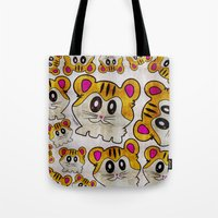 rap Tote Bags featuring Rap Rats by EarlyHuman