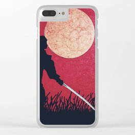 Samurai showdown Clear iPhone Case