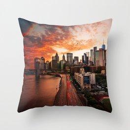 NEW YORK CITY IX Throw Pillow