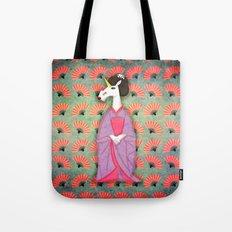 Unicorn Geisha Tote Bag