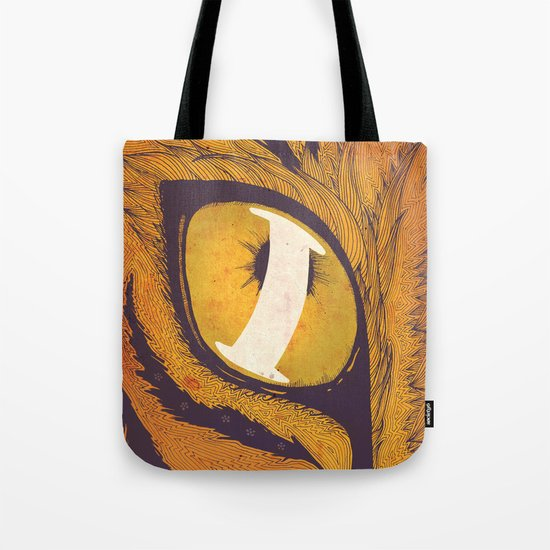 """""""I"""" of the Tiger Tote Bag"""