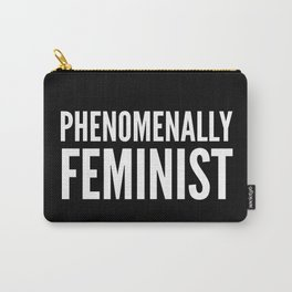 Phenomenally Feminist (Black) Carry-All Pouch