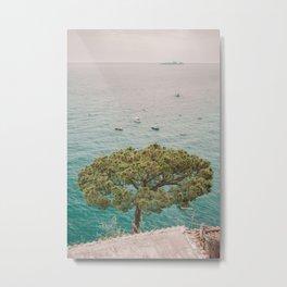 Ocean tree Metal Print