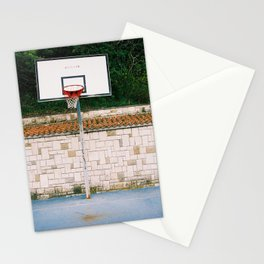 GRAND RESORT SERIES. Playground, Piran, Mediterranean Sea, Color Film Photo Stationery Cards