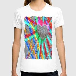 Multi Heart Rays 1 T-shirt
