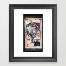 Trumpet song Framed Art Print