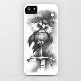 The Golly Fluff iPhone Case