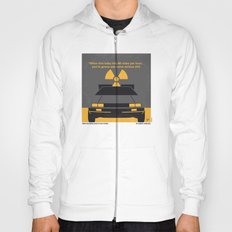 No183 My Back to the Future minimal movie poster Hoody