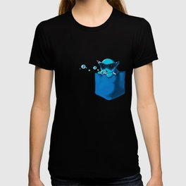 Blowing Bubble Squirtle T-shirt