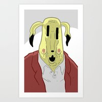 You look terrible, Mr. Electric Mouse Art Print