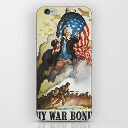 Vintage poster - Buy War Bonds iPhone Skin