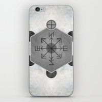 compass iPhone & iPod Skins featuring Compass by Joris182