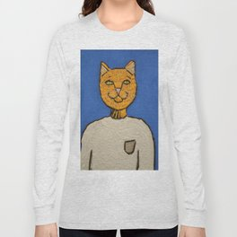 Steve Meowbs Long Sleeve T-shirt