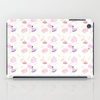 macaroon iPad Cases featuring Macaroon Delight Pattern by kitelin