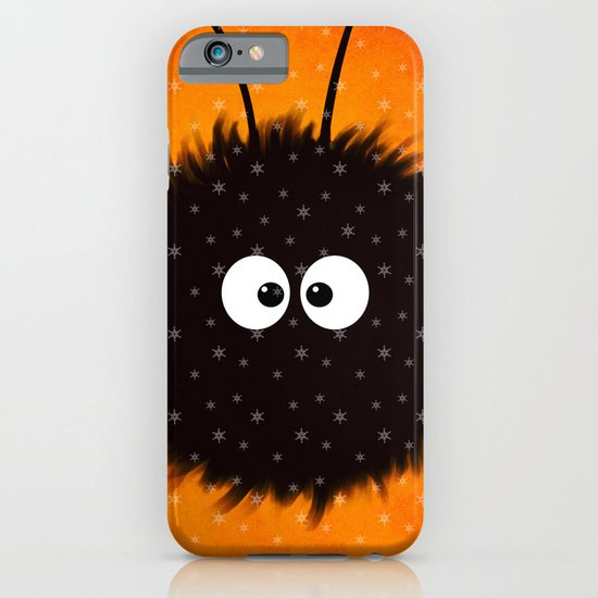 Orange Cute Dazzled Bug Winter iPhone & iPod Case