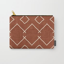 Bath in Rust Carry-All Pouch