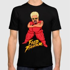 Food Fighter X-LARGE Mens Fitted Tee Black