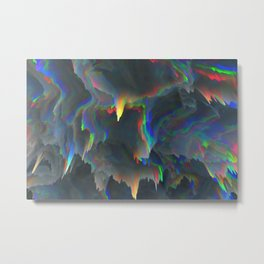 Glitch Background 10 Metal Print