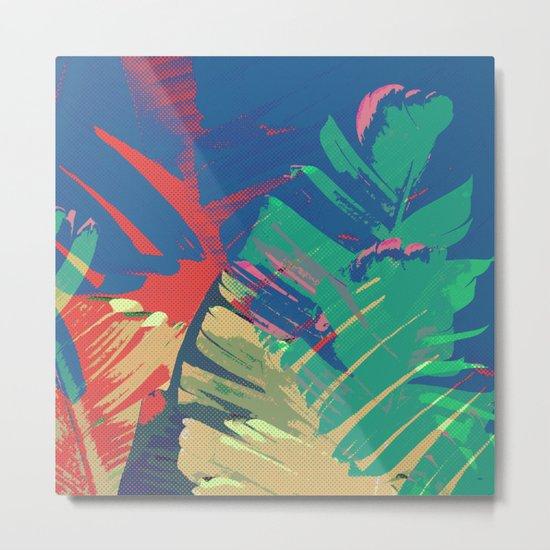 Tropic Topic Metal Print
