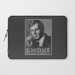 Smoke! Funny Obama Hope Parody (Smoking Man)  Laptop Sleeve