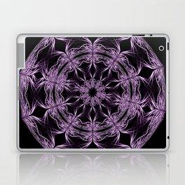 Mandala purple and black Laptop & iPad Skin