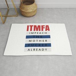 ITMFA (IMPEACH THE MOTHER FUCKER ALREADY) Rug