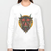 demon Long Sleeve T-shirts featuring Demon by MIRKOW GASTOW