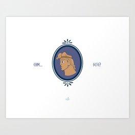 Bibitone greco Art Print