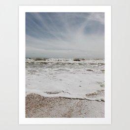 Blue Sky Atlantic Art Print