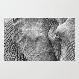 Eye of the elephant Rug