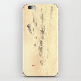 Egrets in Golden Morning Mist iPhone Skin