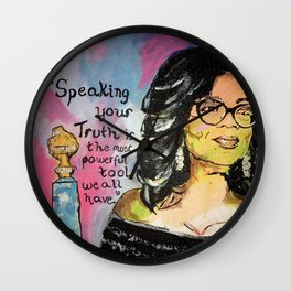 Speak your Truth: Oprah Wall Clock