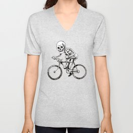 They see me rollin Unisex V-Neck