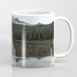Sunrise at Reflection Lake - Mount Rainier Coffee Mug