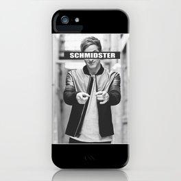Schmidster iPhone Case