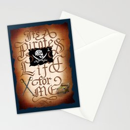 It's A Pirates Life For Me Stationery Cards