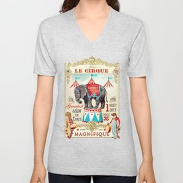 The Circus is in town Unisex V-Neck