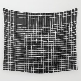 Left - Black and white Wall Tapestry