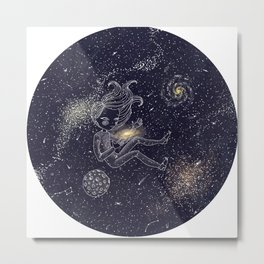 Love for our universe. Metal Print