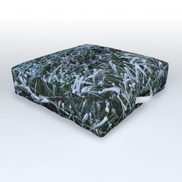 Frosted Grass Outdoor Floor Cushion