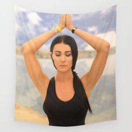bliss et yoga Wall Tapestry