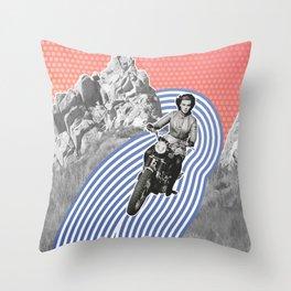 Moto Margret Throw Pillow