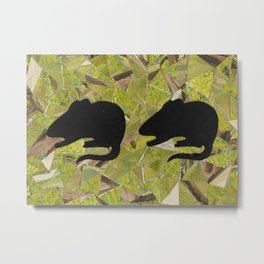 Two Mice Metal Print
