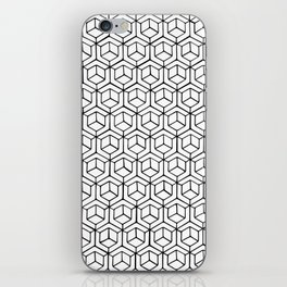 Hand Drawn Hypercube iPhone Skin
