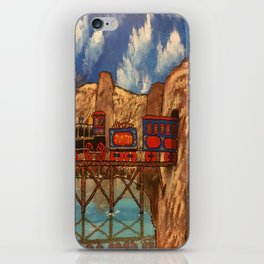 Jupiter Choo Choo iPhone Skin