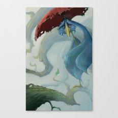 Bird Blues Canvas Print
